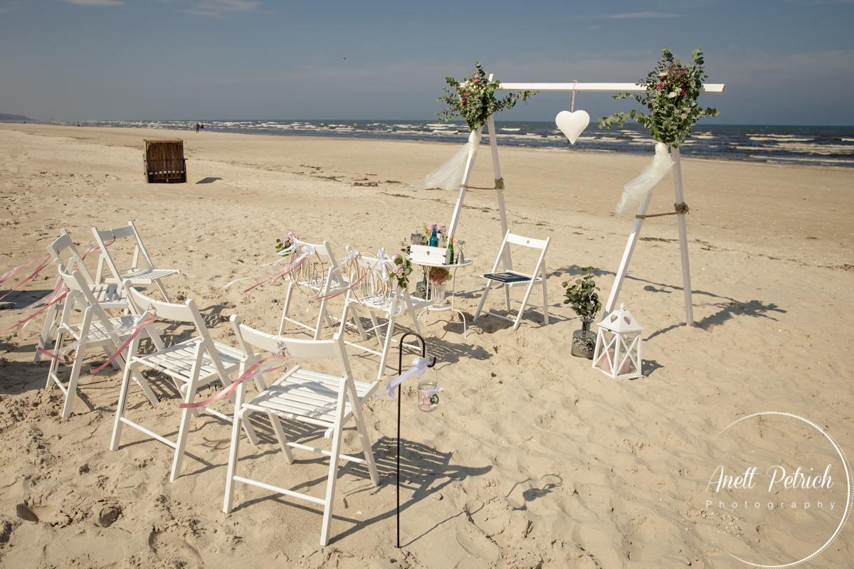 Strandhochzeit Usedom